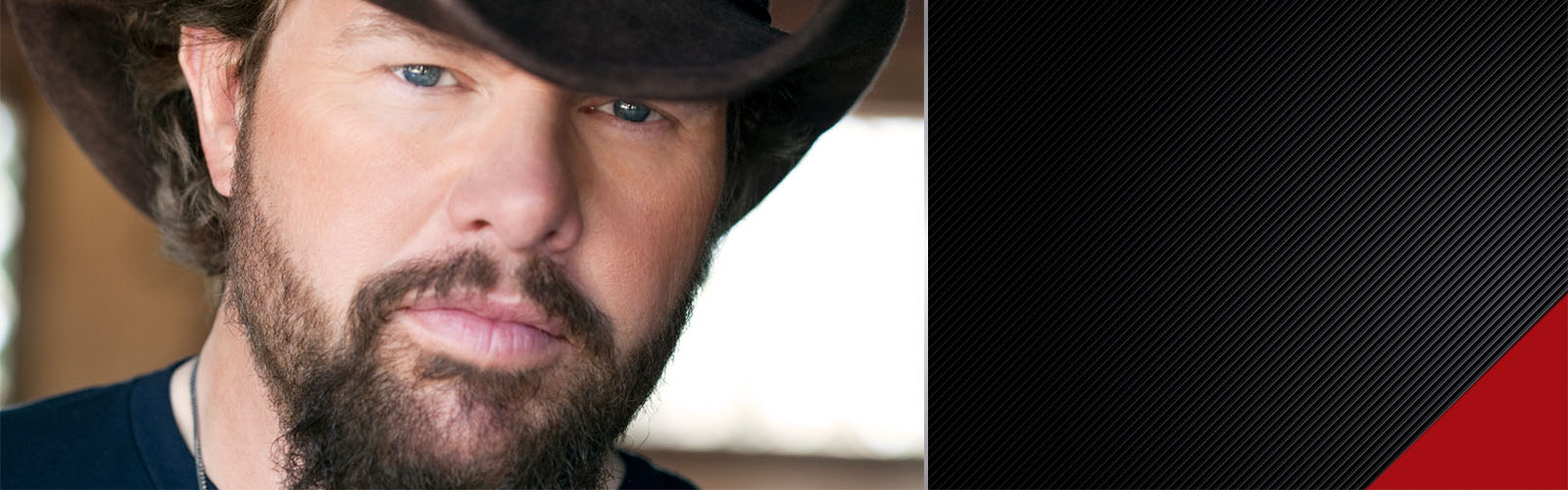 Toby Keith promo banner